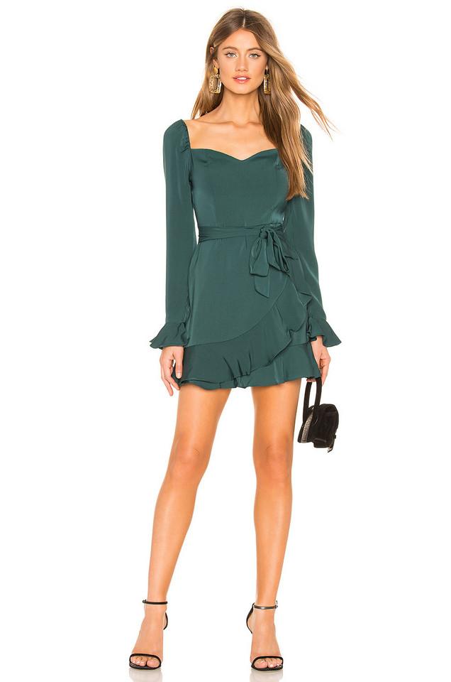 About Us Khloe Mini Dress in green
