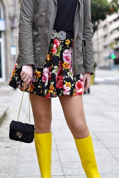 si las calles hablasen shoes skirt coat bag