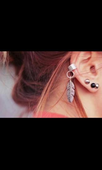 jewels ear cuff found on tumblr earing