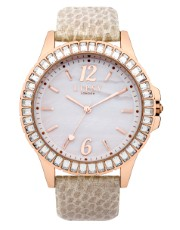 Lipsy Snake Round Face Watch - Lipsy