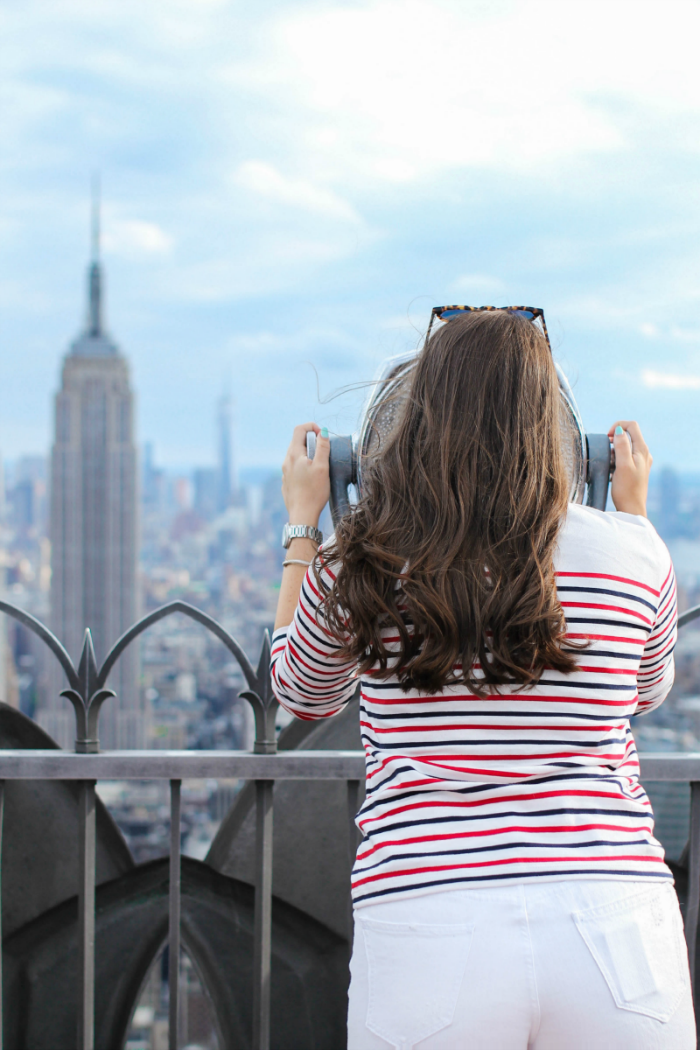 Top Of the Rock, NYC | Covering the Bases | Fashion and Travel Blog New York City
