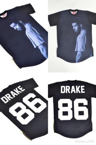 shirt drake jersey dope urban
