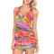 Luli fama dreamin t-back mini dress
