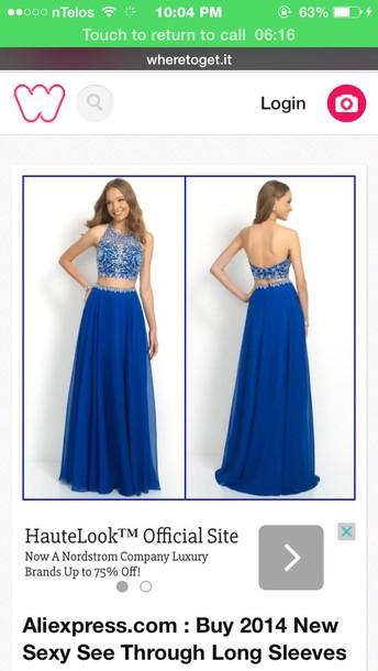 dress cobalt blue