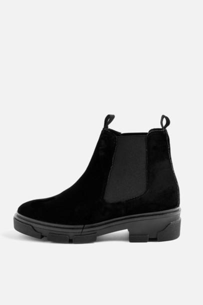 Topshop chelsea boots black shoes