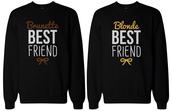 sweater,bff,female friendship,matching sweatshirts,crewneck sweatshirts,bff shirts,bff sweatshirts,bff sweater,couple sweaters,best friend shirts,best friend sweatshirt,bff gifts,bff matching
