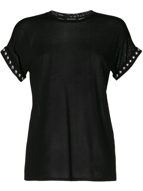 t-shirt shirt t-shirt women cotton black top