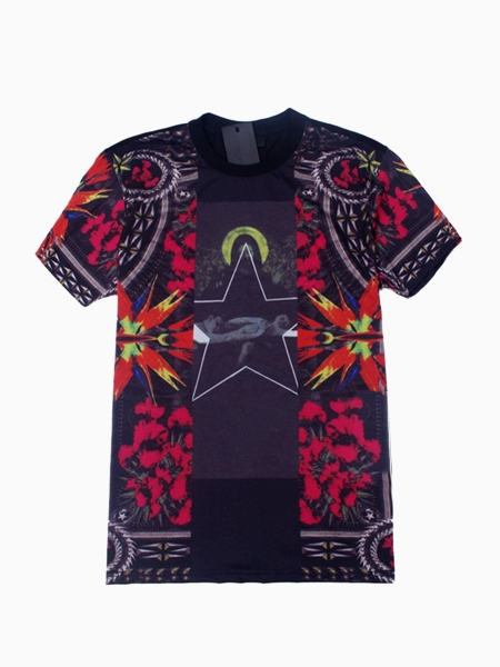 Shirt in mirror iris print(couple style for women and men)