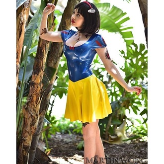 dress snow white costume halloween costume