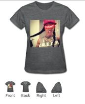 shirt,grey t-shirt,teyana taylor,turnt
