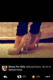 spiked,heels,high heels,killer heels,spiked shoes,shoes