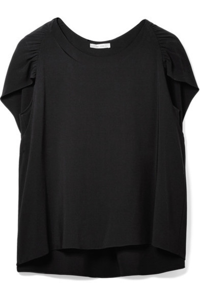 The Row top cape black
