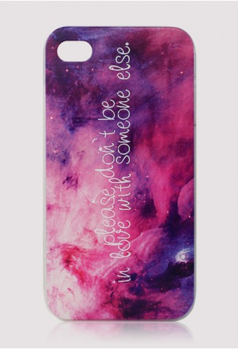 Water Brush Galaxy Cellphone Case for Iphone4/4s - Retro, Indie and Unique Fashion