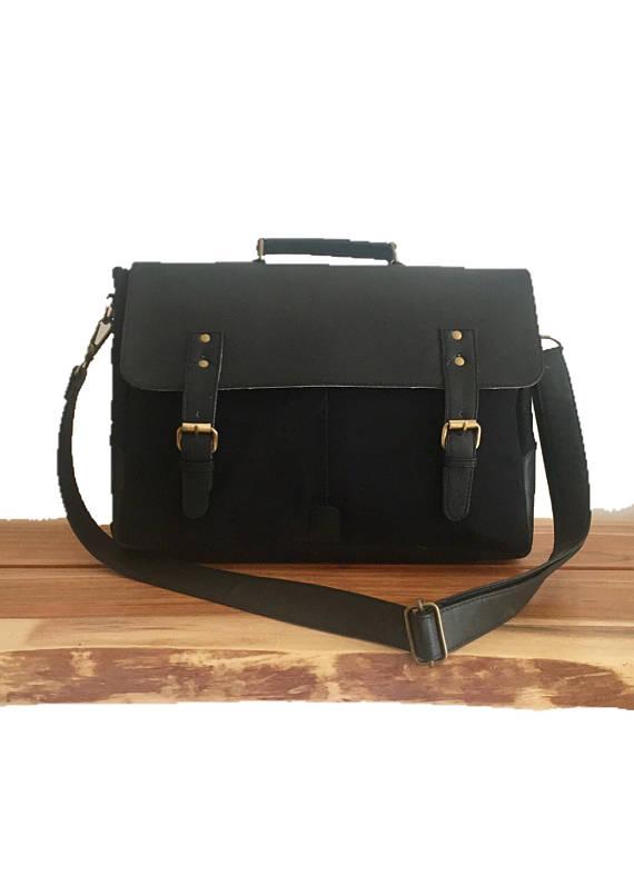 Messenger Bag Man Crossbody Bag Briefcase Mens Satchel