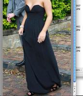dress,clothes,black dress,maxi dress,formal dress,black maxi dress,evening dress