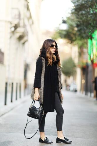 dulceida blogger sunglasses jacket sweater pants bag shoes
