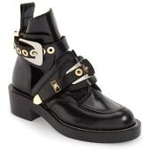 shoes,balenciaga look a like boots black