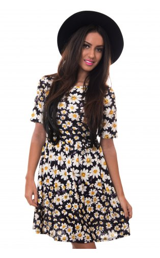 Daisy Chain Skater Dress -  from The Fashion Bible  UK