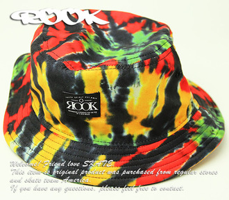 rasta yellow bucket bag bucket hat
