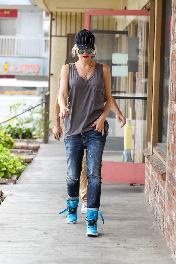 jeans denim boyfriend jeans gwen stefani