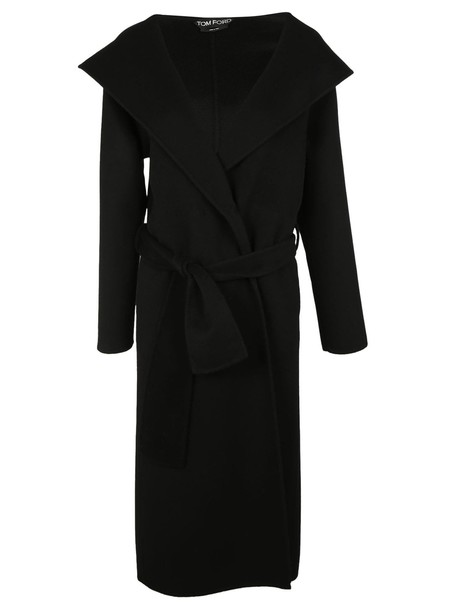 Tom Ford coat trench coat black