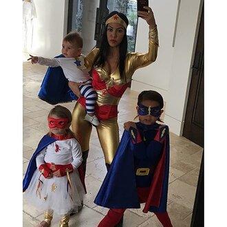 jumpsuit halloween halloween costume halloween makeup kourtney kardashian instagram costume