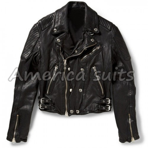 Ali Larter Classic Motorcycle LeatherJackets