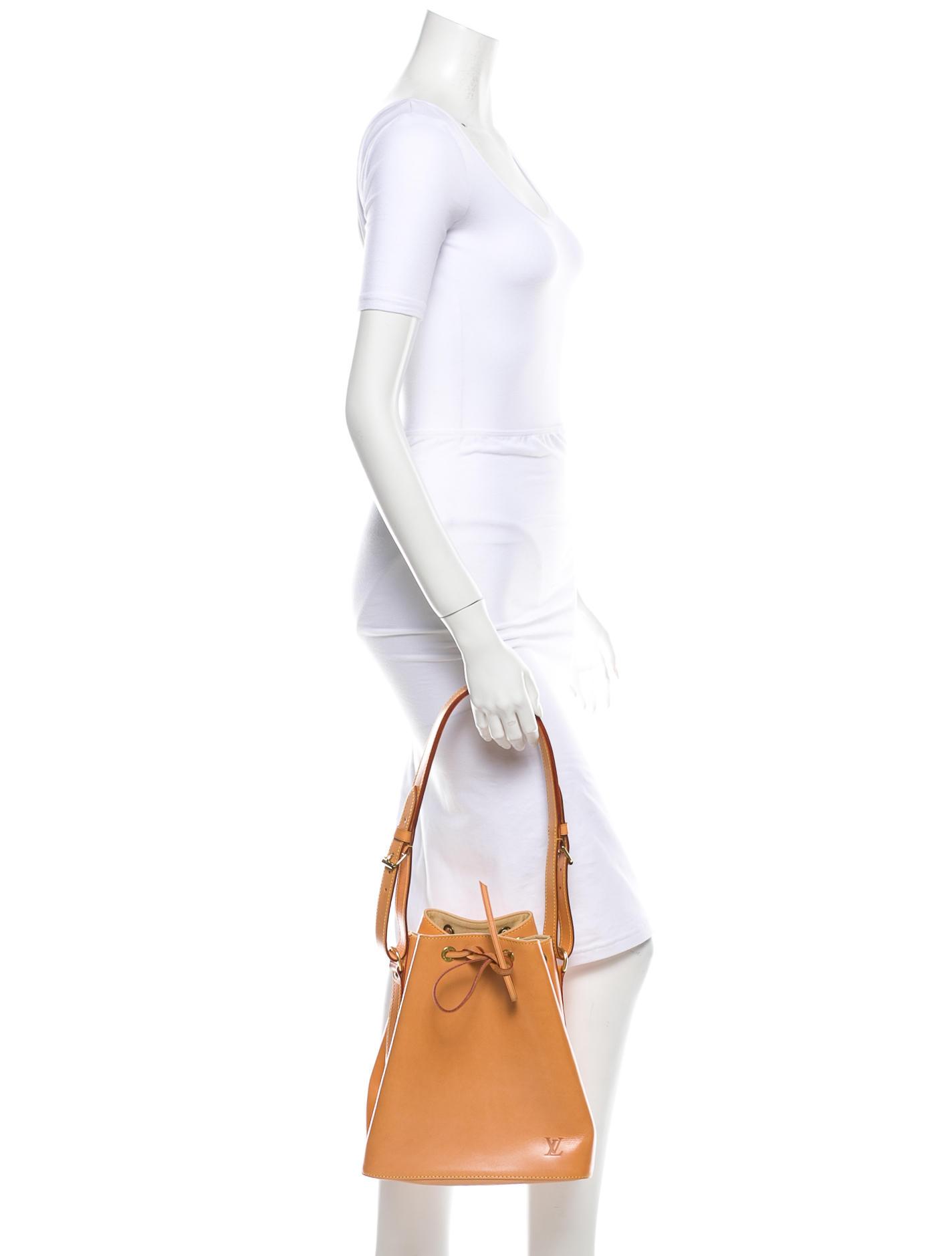 Louis Vuitton Vachetta Petit Noe Bag