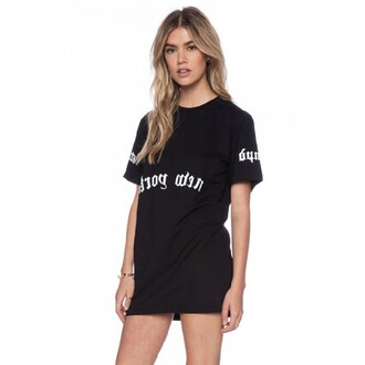 dress boyfriend black dress t-shirt shirt girl hipster quote on it style grunge sexy dope summer streetstyle streetwear