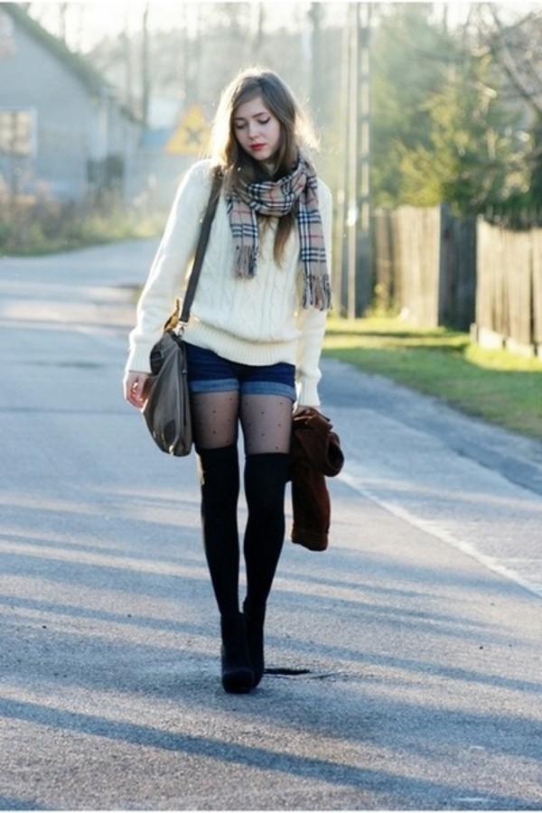 scarf vintage underwear