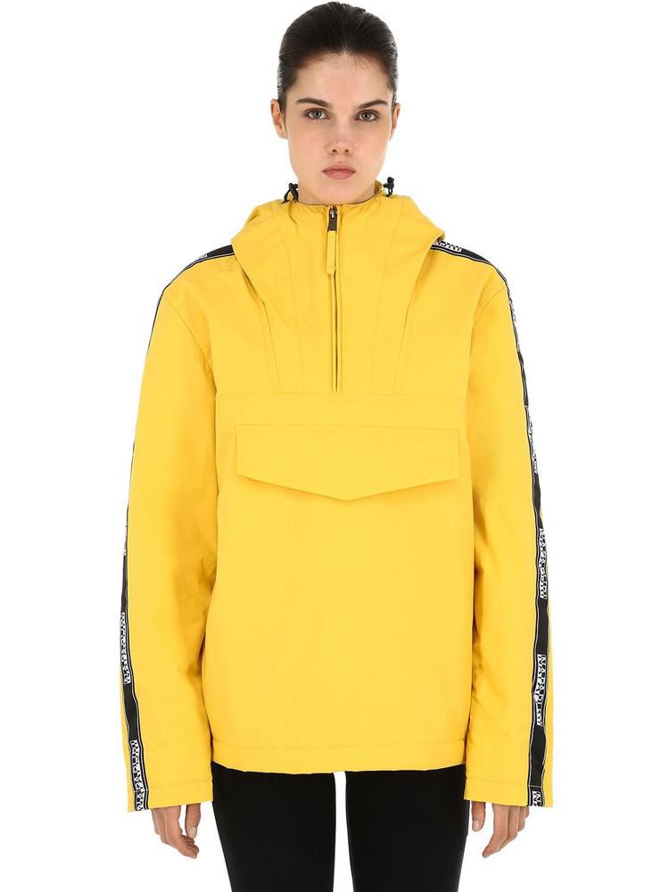 NAPAPIJRI Rain Forest Anorak Jacket in yellow