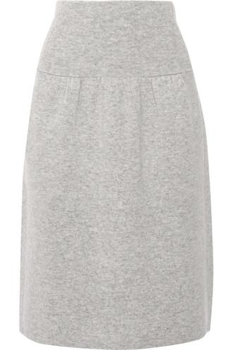 skirt wool light