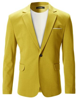jacket spring yellow outfit summer blazer mens blazer