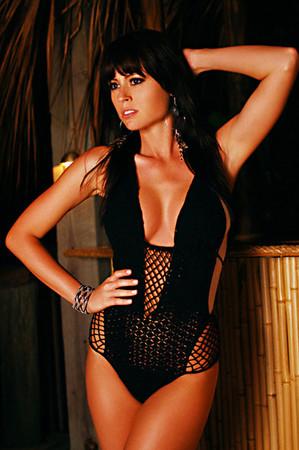 Sway crochet monokini in black: buy beauty & the beach at couturecandy.com
