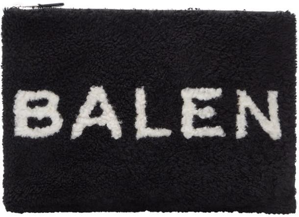 Balenciaga pouch black bag