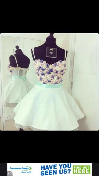 dress floral mint