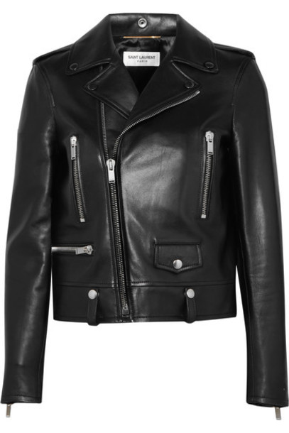 Saint Laurent jacket perfecto biker jacket leather black