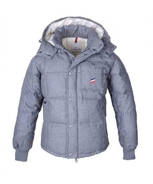 Moncler Men Jacket Grey Bj130587
