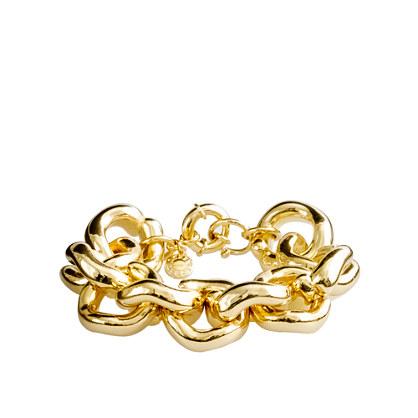 J Crew Link Braceletleather Name Bracelets
