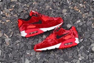 shoes nike air max 90 custom nike air max red velvet air max 90