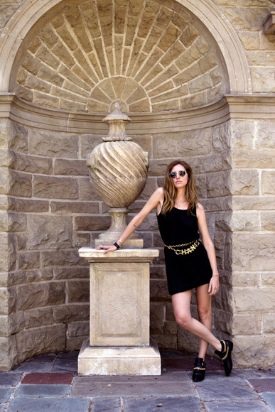 the blonde salad bag sunglasses dress Belt jacket