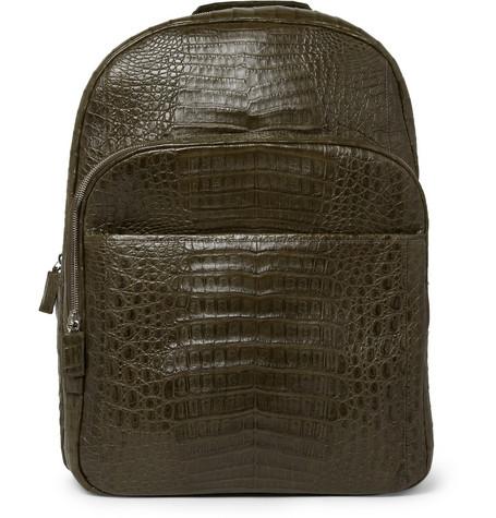 Santiago GonzalezCrocodile Backpack|MR PORTER
