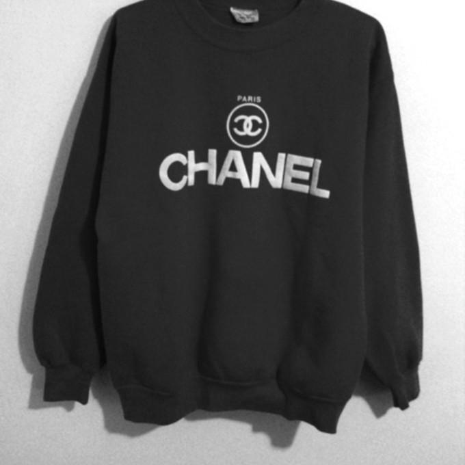 chanel logo mens sweater long sweater jacket. Black Bedroom Furniture Sets. Home Design Ideas