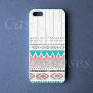 Amazon.com: CUSTOM IPHONE 5 CASE AZTEC Deisgn Iphone 5 Cover Funny LOVELY Pretty Cute BEST COOL WOODEN: Cell Phones & Accessories