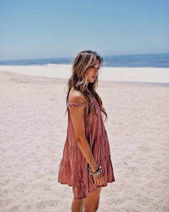 dress tumblr mini dress pink dress summer dress summer outfits