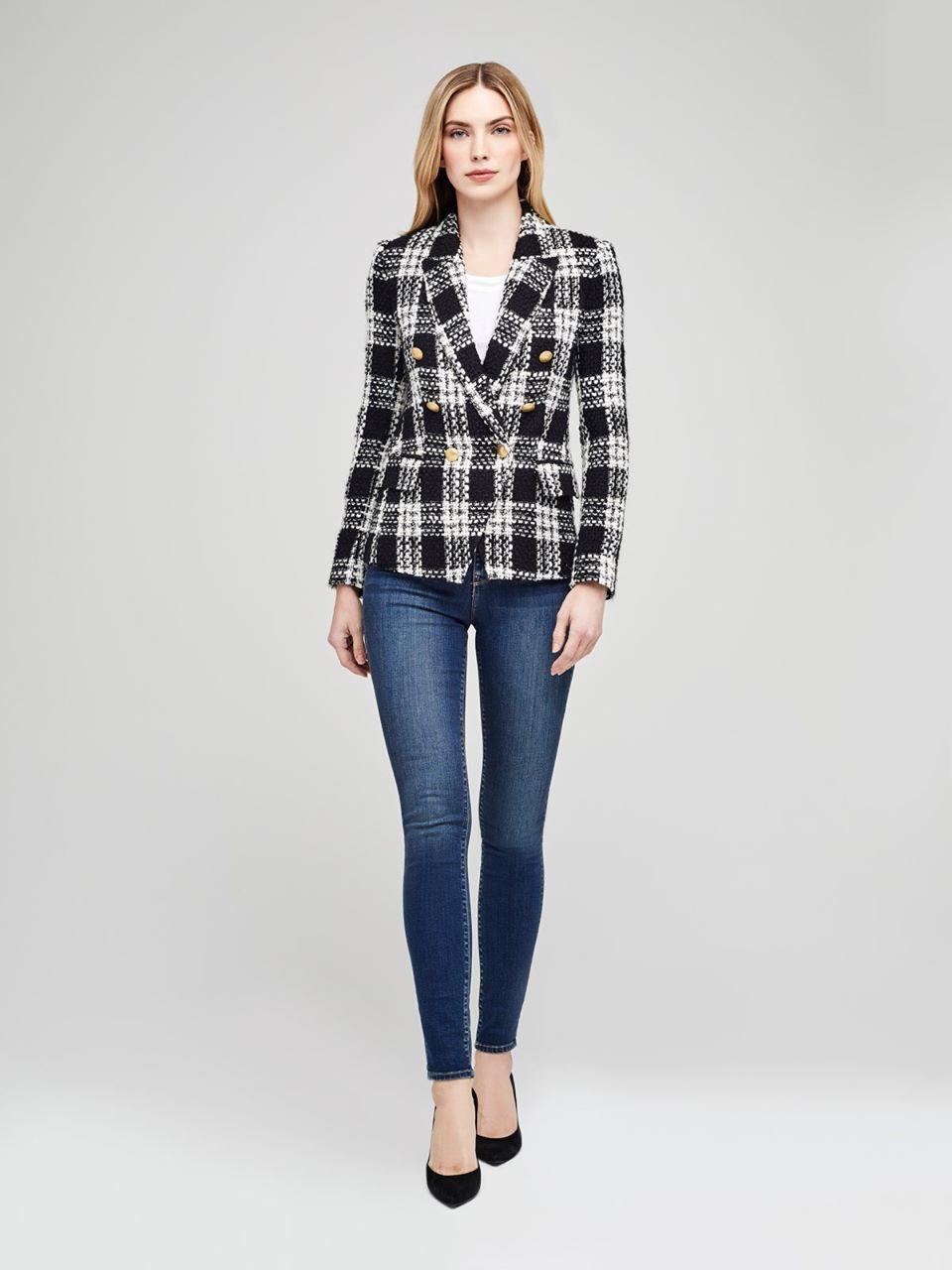 Kenzie Blazer in Tweed