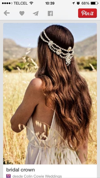 hair accessory wedding accessories crystal white silver wedding hairstyles