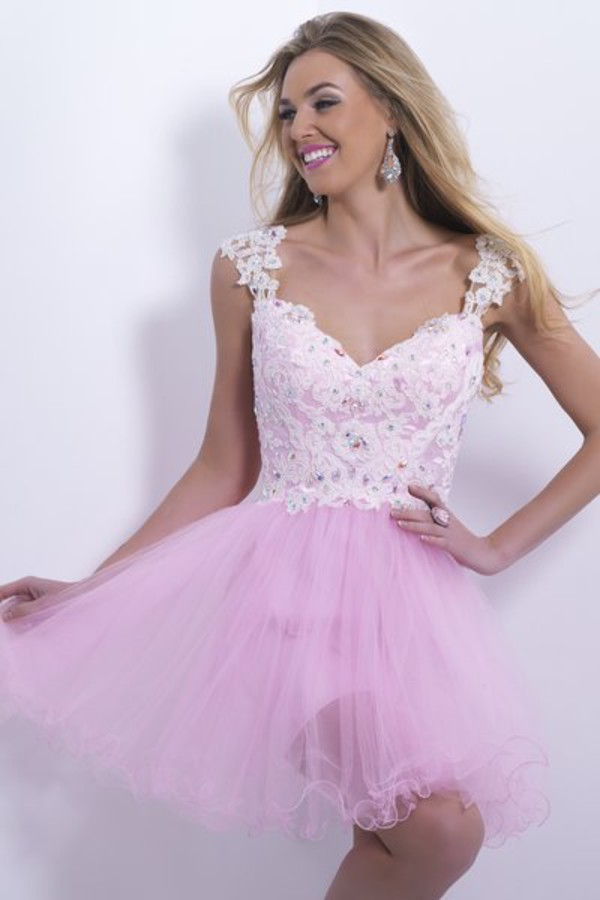 tank dress cocktail dress applique dress pink dress tulle dress 2014 short cocktail dresses