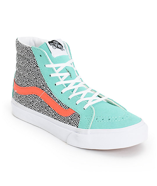 Womens Coral Converse Shoes