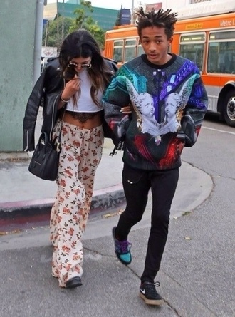 sweater jaden smith art blue sweater sweatshirt cupid statue architectural kylie jenner pants mens sweater painting